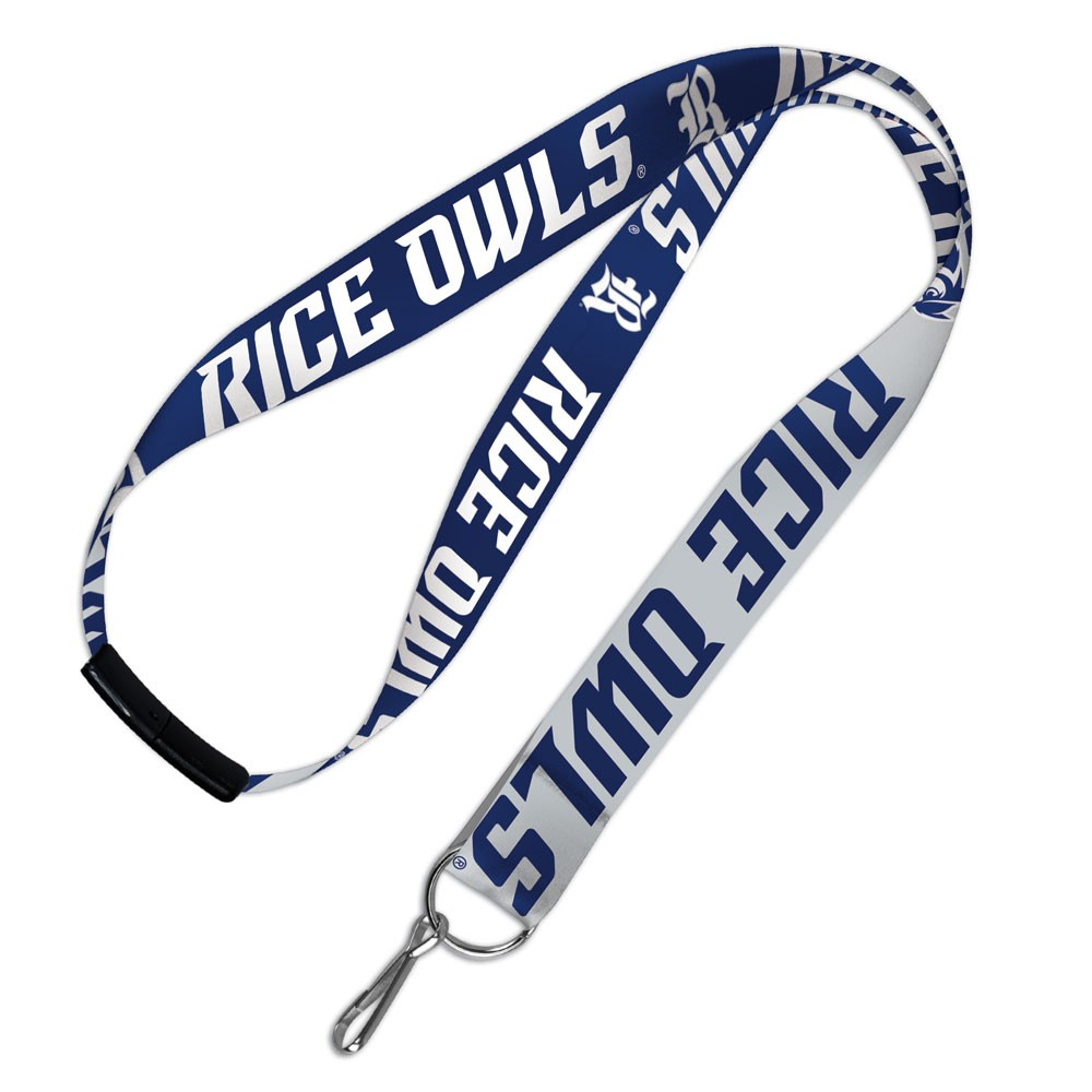 Rice Owls Official NCAA 20 inch  Lanyard Key Chain Keychain by WinCraft