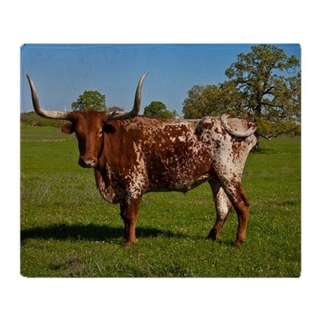 CafePress - Texas Longhorn - Soft Fleece Throw Blanket, 50