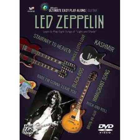 Ultimate Easy Guitar Play-Along -- Led Zeppelin : Learn to Play Eight Songs of Light and Shade (Easy Guitar Tab), DVD](Easy To Play Halloween Songs)
