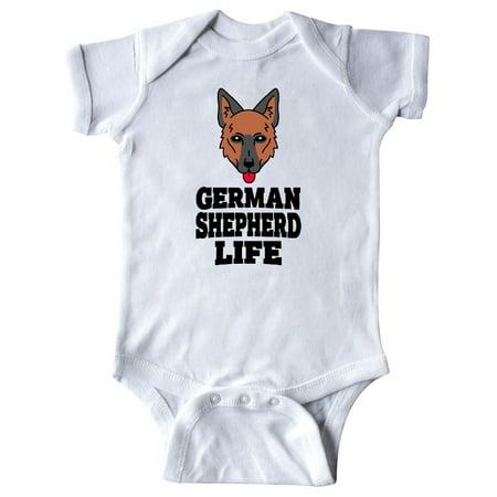 German Shepherd Life Infant - Life Size Creeper