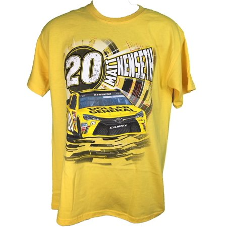 2016 Nascar Matt Kenseth Dollar General  20 Speedbolt Adult T Shirt  3X