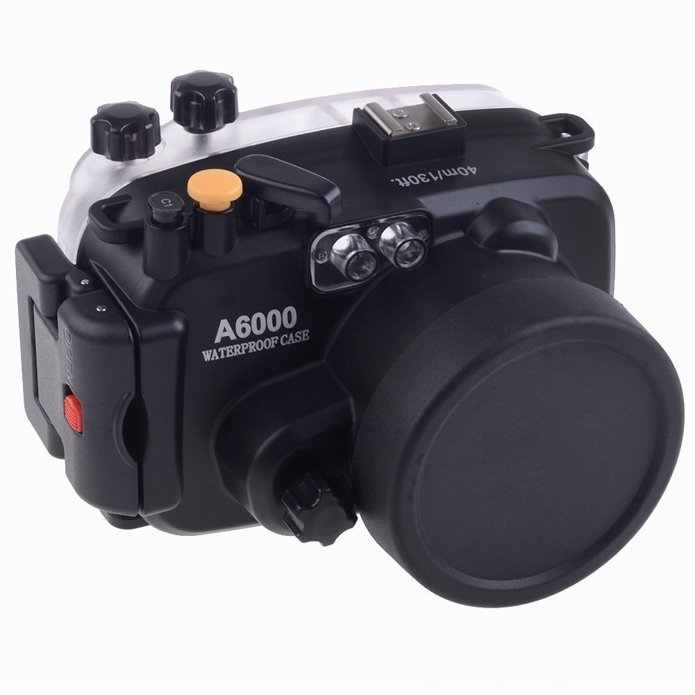 EACHSHOT 40M Waterproof Underwater Camera Housing Case Ba...