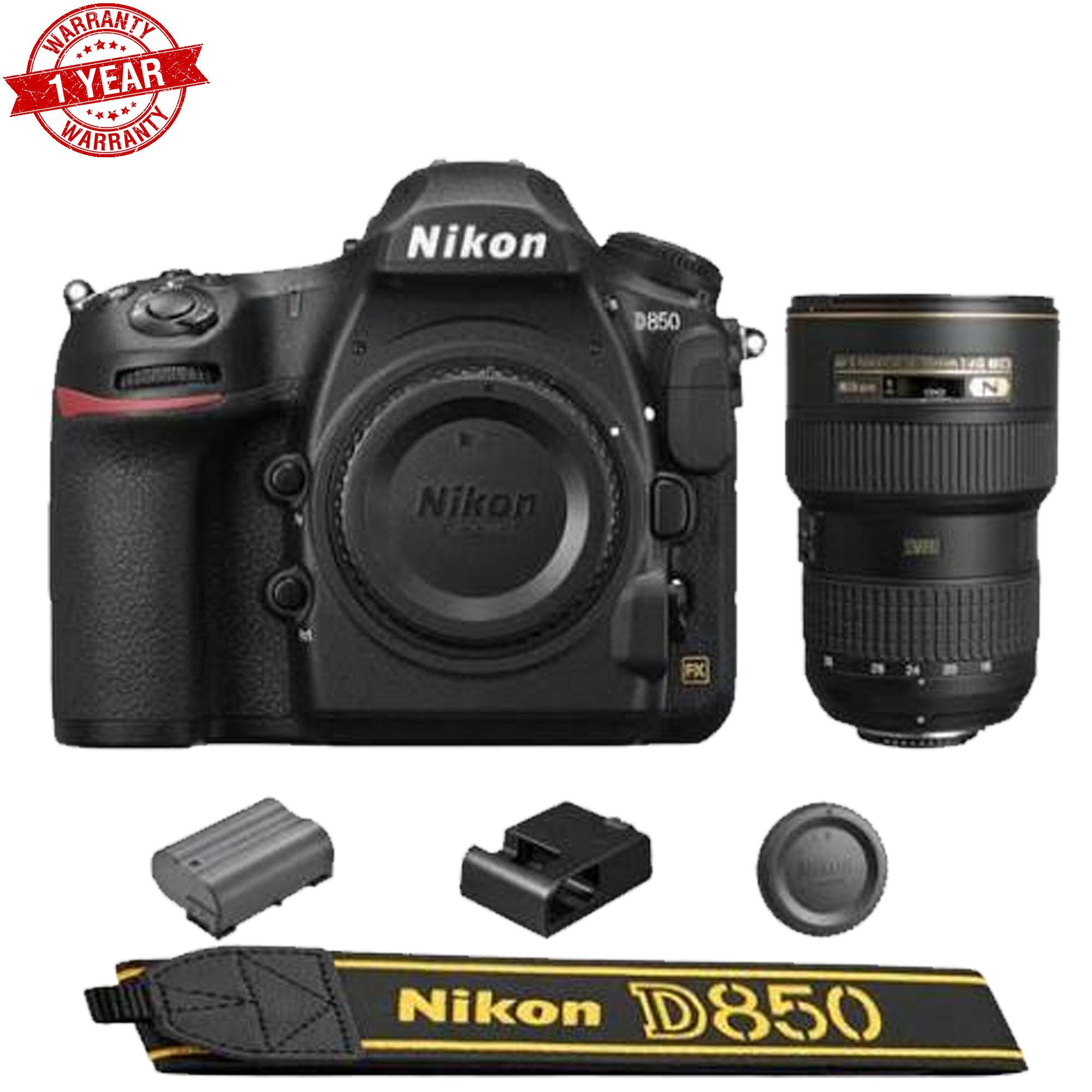 Nikon D850 DSLR Camera + AF-S NIKKOR 16-35mm f/4G ED VR Lens - image 1 of 1