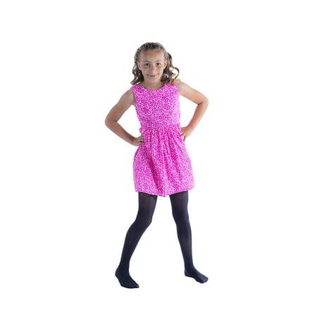 c998cb23d Felicity - 3 Pack Felicity Girls Opaque Pantyhose, Stretchy, Ballet Dance  Hosiery (5-6, Black) - Walmart.com