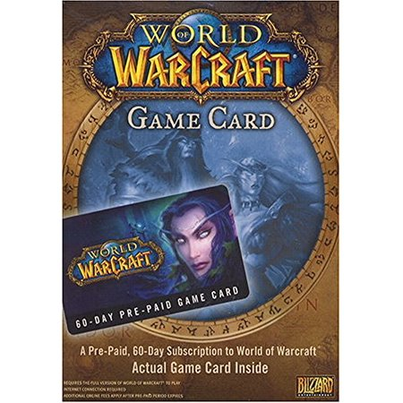 World of Warcraft 60 Day Pre-Paid Time Card -