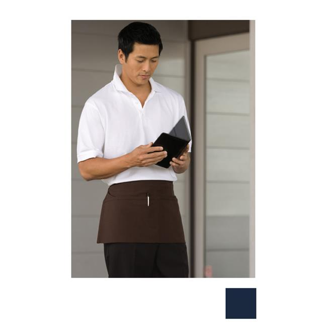 Uncommon Threads 3065-1600 Waist Apron 2 Section Pocket in Navy