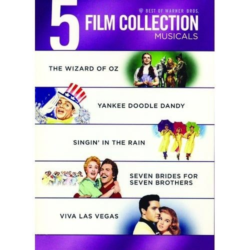 Best Of Warner Bros. Musicals: The Wizard Of Oz   Singin' In The Rain   Seven Brides For Seven Brothers  ... by WARNER HOME ENTERTAINMENT
