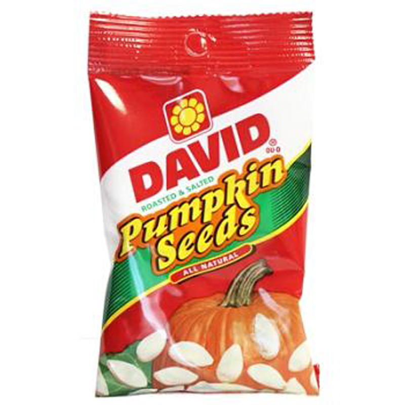 David Pumpkin Seeds - Box 2.25 Oz Each ( 12 In A Pack )
