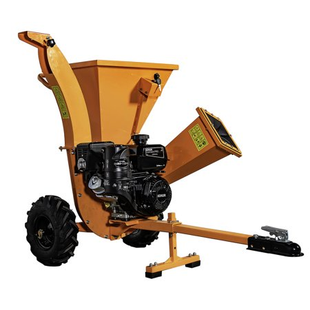 Detail K2 OPC503 3 in. 7 HP Cyclonic Chipper Shredder with KOHLER CH270 Command PRO Commercial Gas