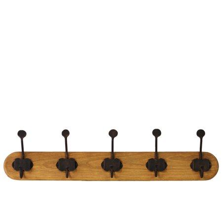 Urban Trends Collection Wood Hanger Varnished Wood Finish