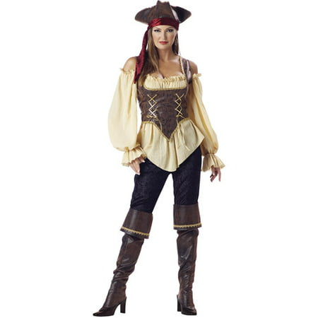 Rustic Pirate Adult Halloween Costume - Pirate Dress Up For Adults