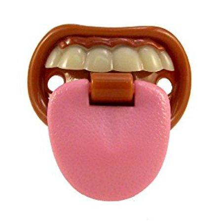 Billy Bob Teeth Baby with Attitude Tongue Novelty Baby - Novelty Pacifiers