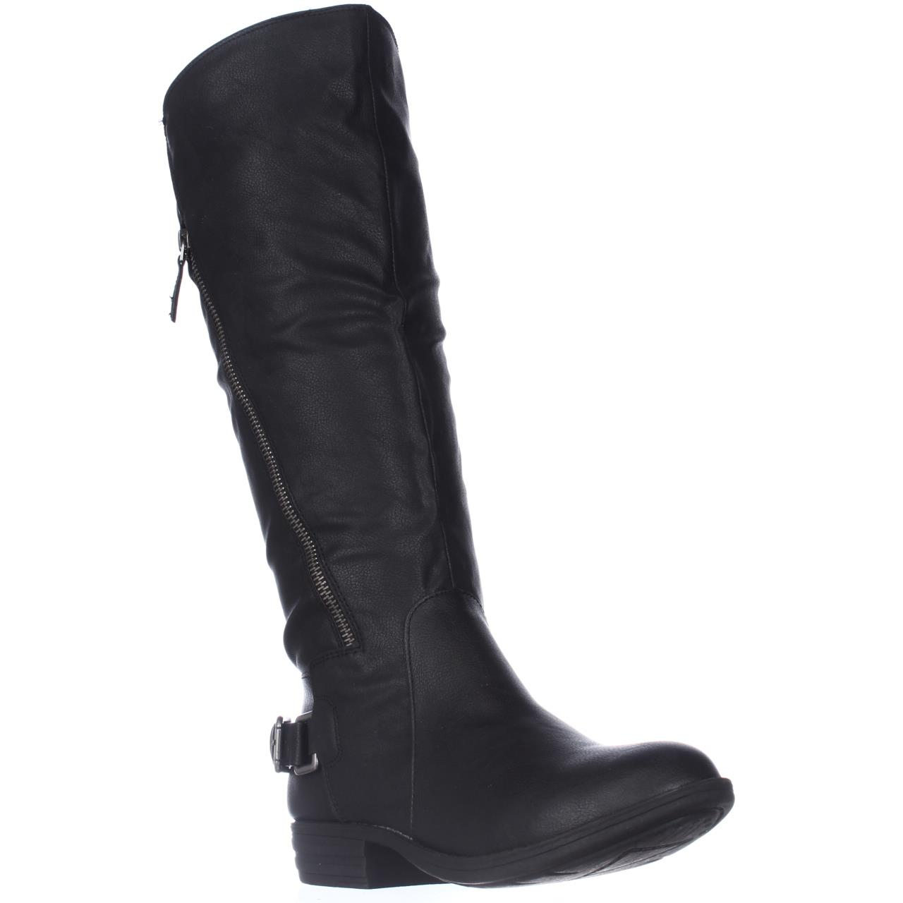 Image of Womens A.R. Asher Wide Calf Riding Boots - Black