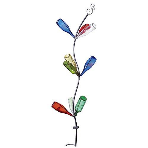 Wine Bottle Tree Solar Garden Stake by Bigbolo