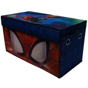 Marvel's Spider-man Soft Collapsible Storage Toy Trunk