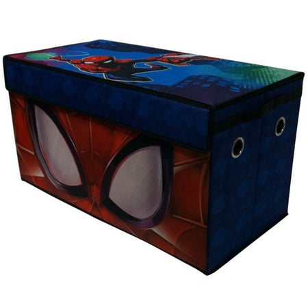 Spider Man Toy Box - Marvel's Spider-man Soft Collapsible Storage Toy Trunk