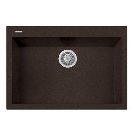 LaToscana 30 L x 8 W Drop In Kitchen Sink