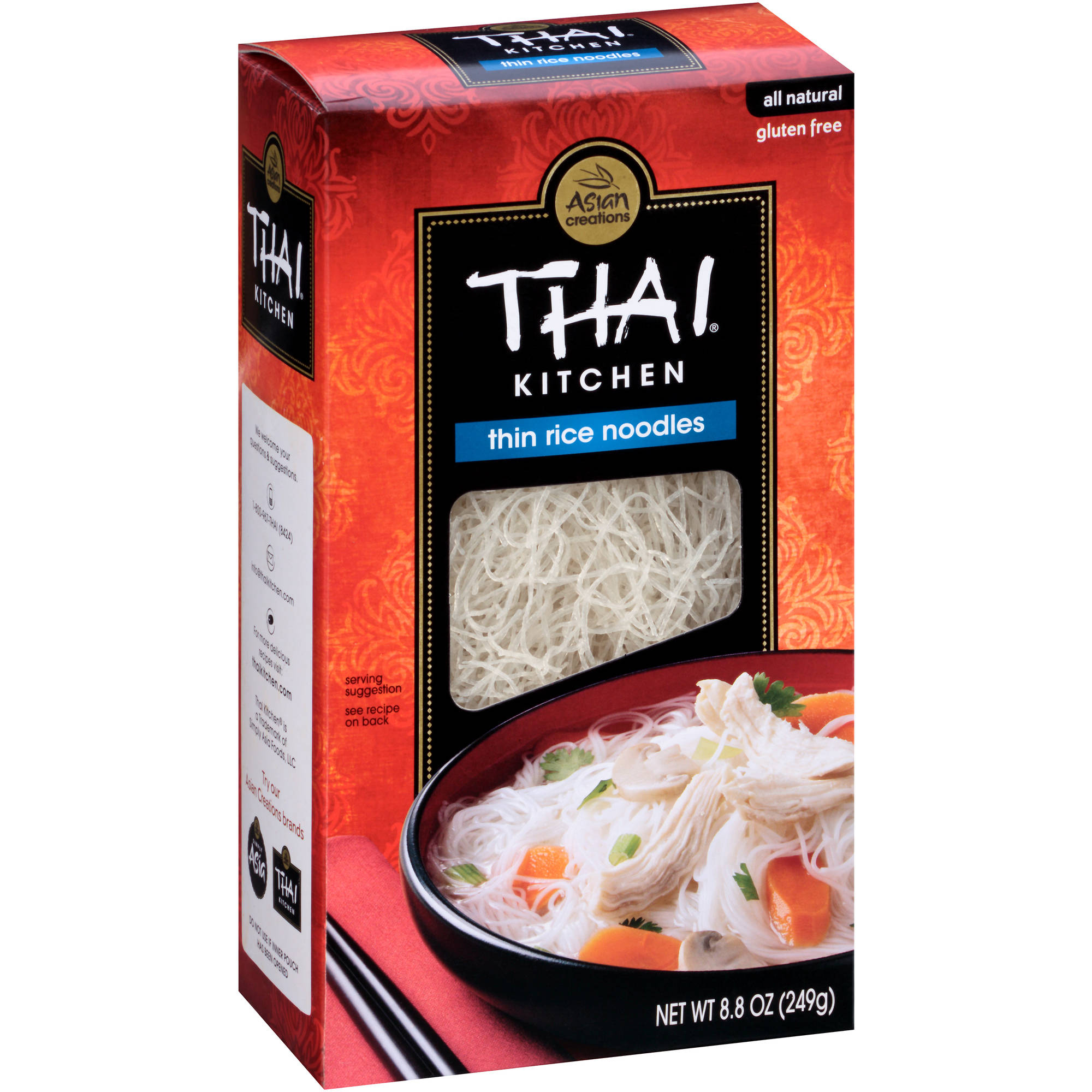 Thai Kitchen Thin Rice Noodles, 8.8 oz