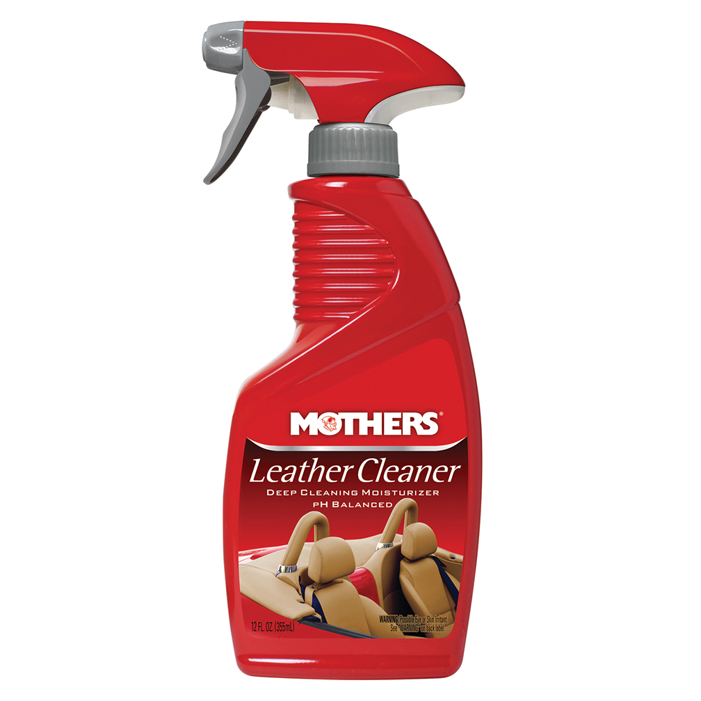 Mothers 06412 Leather Cleaner 12oz. Spray Bottle