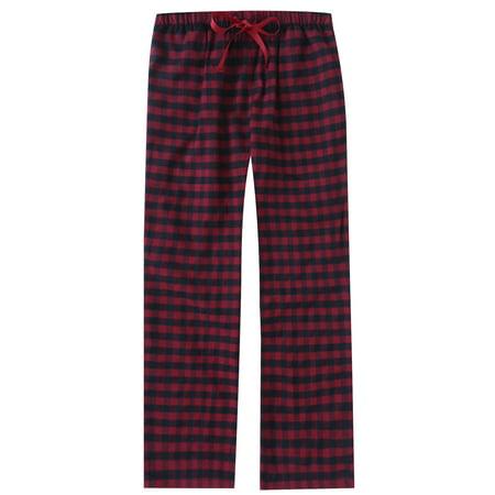 Twin Boat Womens 100% Cotton Lightweight Flannel Lounge Pants