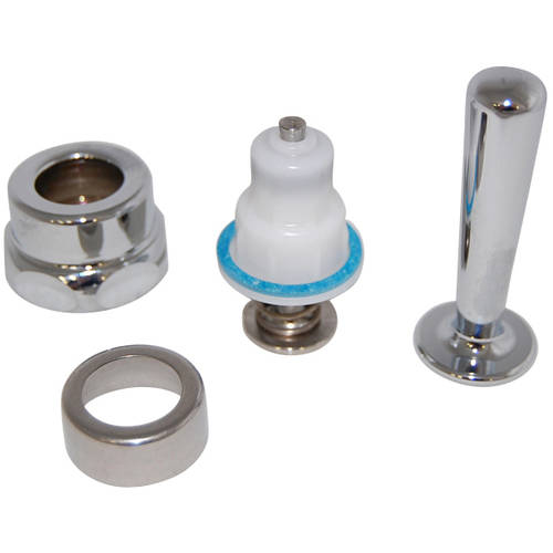 Toto THYD9 Manual Flush Valve Lever Assembly for Toilet and Urinal 1.0 GPF Flushometers, Chrome