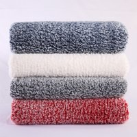 Mainstays Extra Plush Sherpa Bed Blanket in Multiple Sizes & Colors