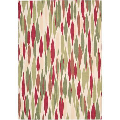 Nourison Waverly Sun N' Shade Polyester Indoor/Outdoor Rug, Blossom
