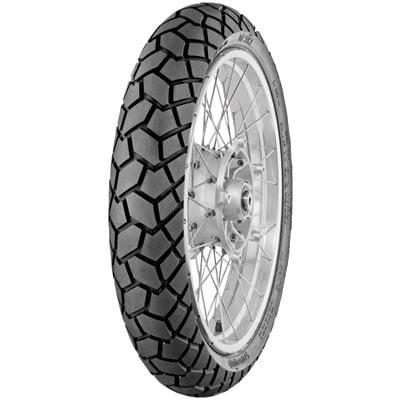 Continental TKC70 Dual Sport Front Motorcycle Tire 120/70R-19 (60V) for Ducati Scrambler Desert Sled 2017-2018