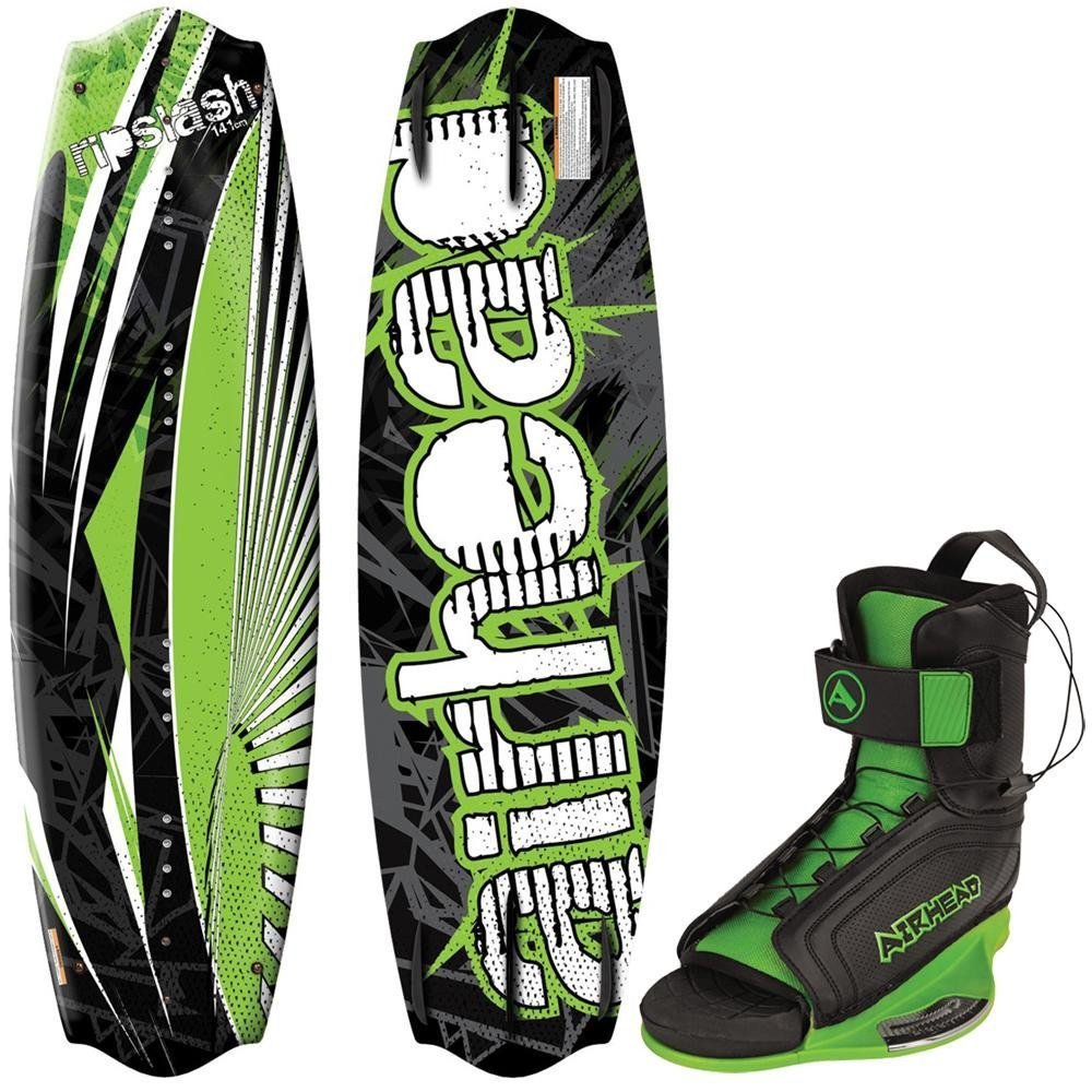 Click here to buy Airhead Wakeboard, 141cm, w Goblin Bindings (M) AHW-50512M by Airhead.