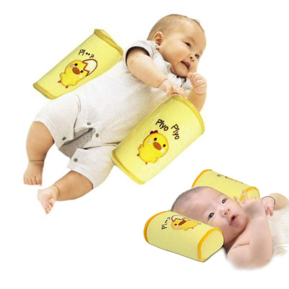 Baby Side Sleep Pillow Support Wedge Adjustable Newborn Infant Anti-rollover