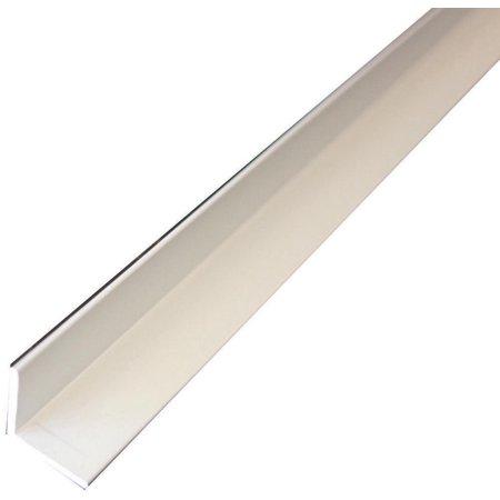 M-D 61143 Alum Angle, 72 in L, Aluminum, Mill