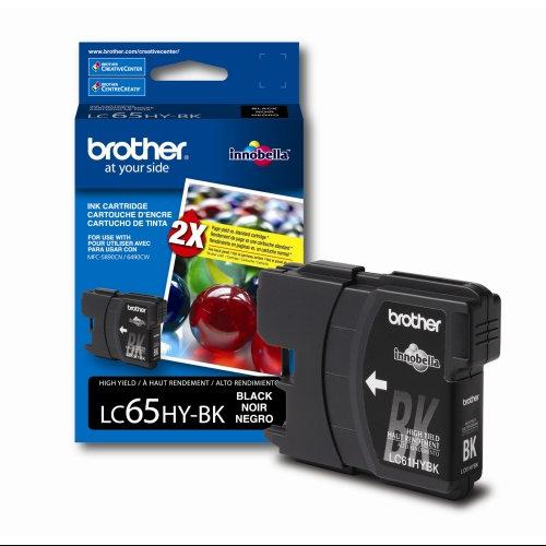 Brother International Lc65hybk Brother High Yield Black Ink Cartridge For Mfc-6490cw Printer - Black