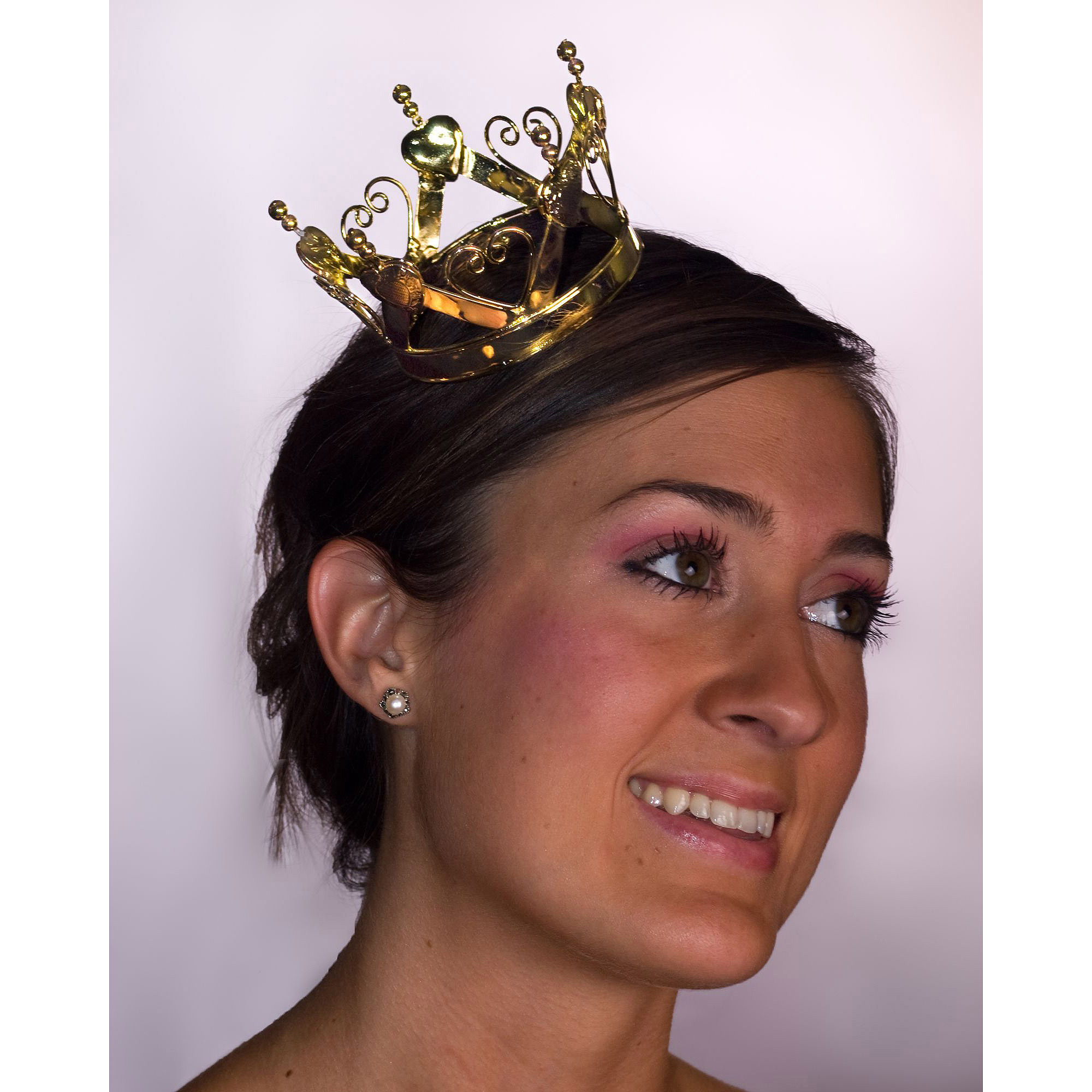 Sunnywood Mini Heart Crown Adult Costume Accessory