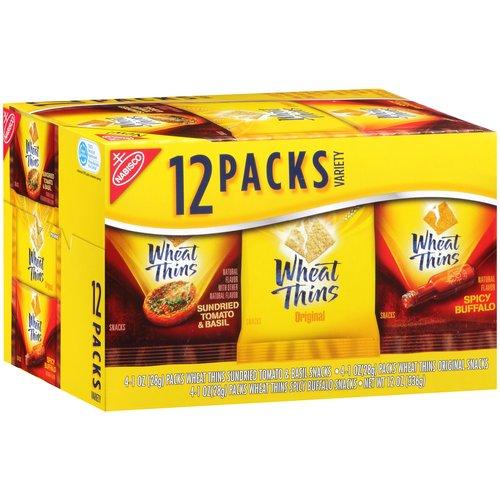 Nabisco Wheat Thins Assorted Flavored Snacks, 1 oz, 12 ... | 450 x 450 jpeg 40kB