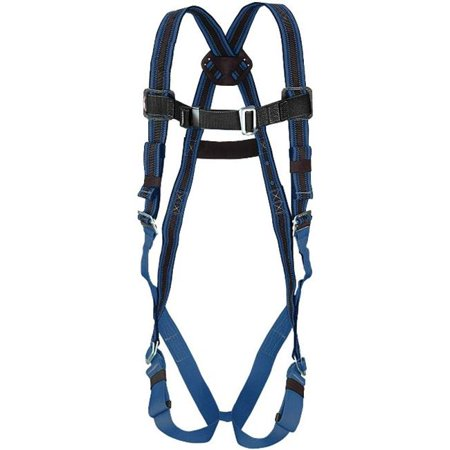 Miller By Honeywell 493-E650DQC-UBL DuraFlex 650 Series Ultra Stretchable Harness With Elastomer Webbing, Universal