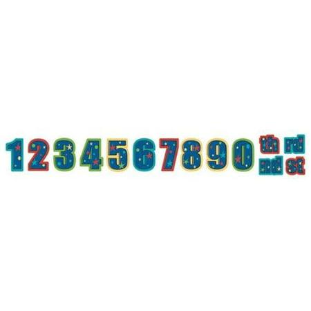 Amscan 128695 Happy Birthday Custom Letter Banner Pack Of 6