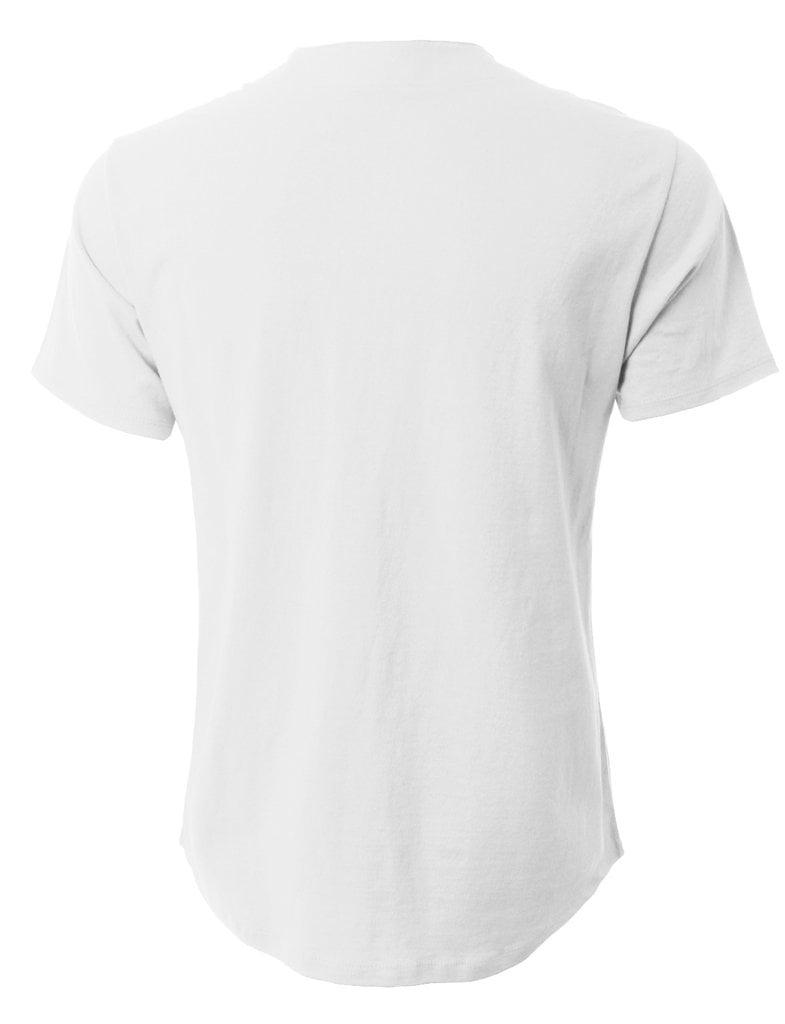 Ks Mens Baseball Button Down Plain Shirt Short Sleeve Tee 1ksa0002 Men39s Digital Circuit Board Tshirt 2xlarge Light Blue Clothing