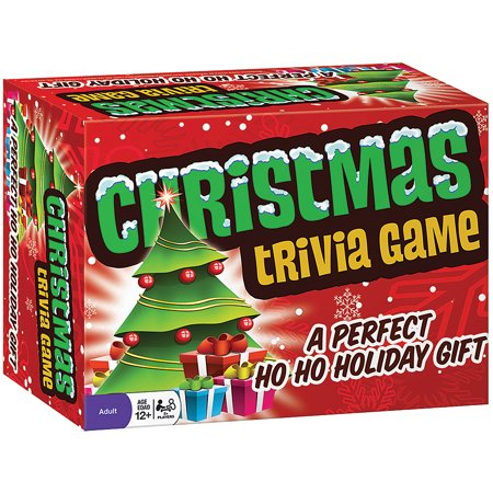Christmas Family Trivia Game - Includes 220 Cards - Ages 8 and Up ()