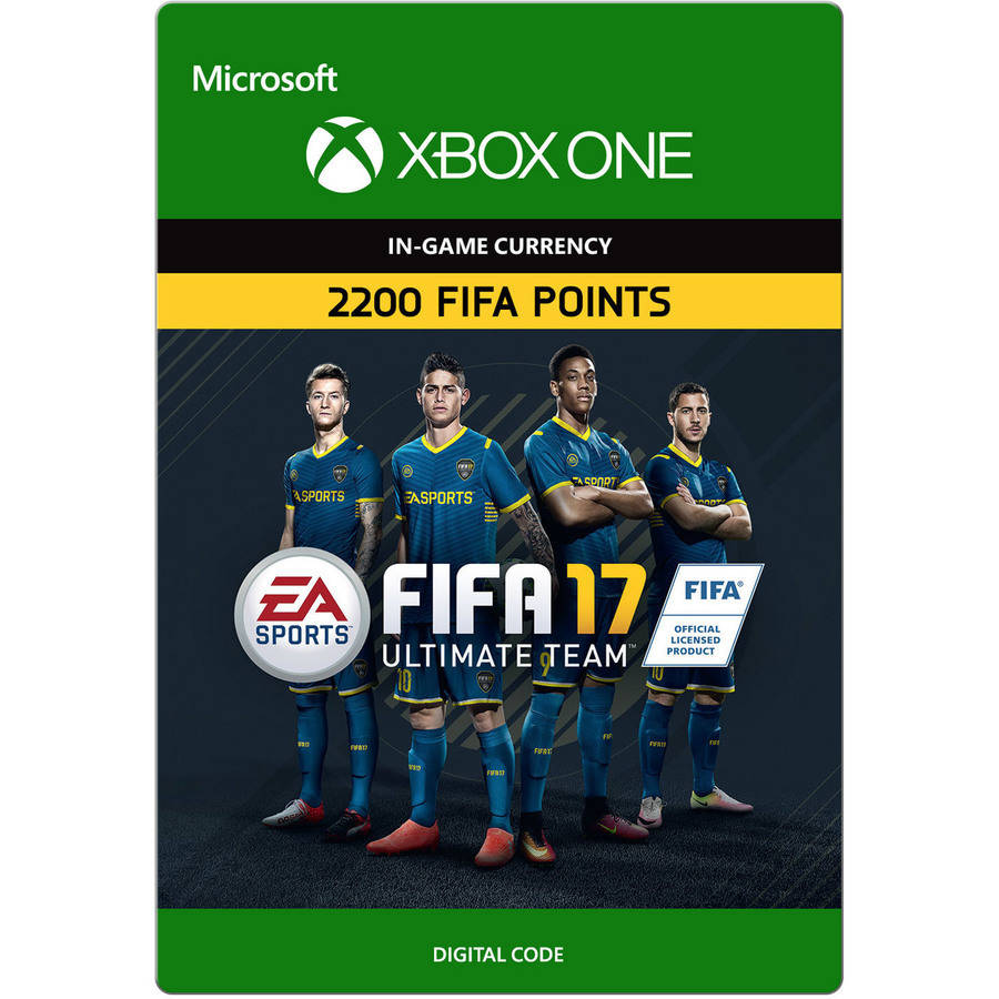 Xbox One FIFA 17 Ultimate Team FIFA Points, 2200
