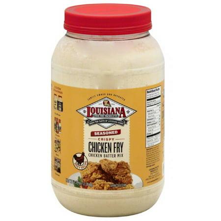 Louisiana fish fry products seasoned crispy chicken fry for Louisiana fish fry products