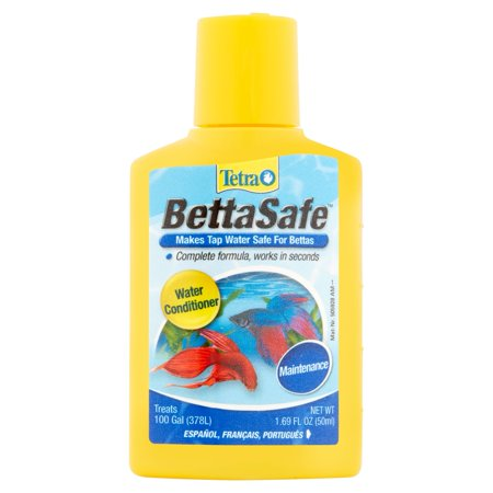 Tetra Betta Safe Fish Tank Water Conditioner  1 69 Ounce