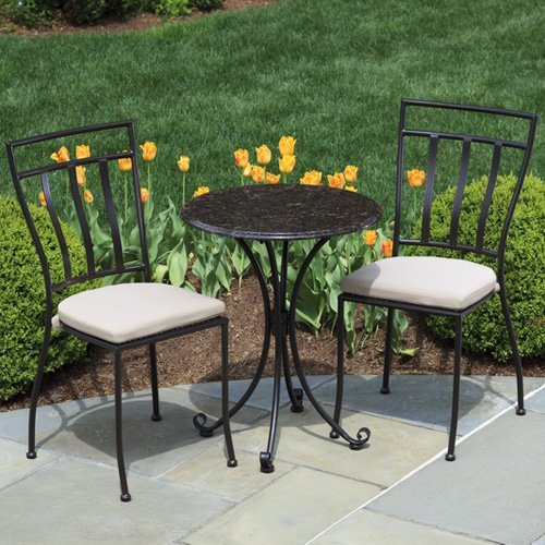 Alfresco Home Ponza 24 in. Round Bistro Table
