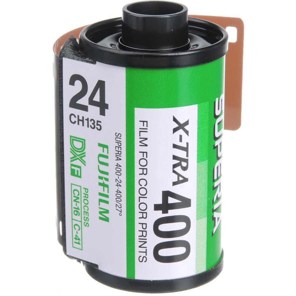 Fujifilm Superia X-TRA ISO 400 35mm Color Film