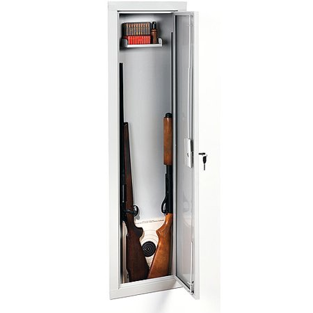 Stack-On IWC-55 Full-Length In-Wall Gun/Storage (Best Gun Cabinet Under 200)