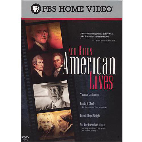 Ken Burns' American Lives: Thomas Jefferson / Lewis And Clark / Frank Lloyd Wright / Not For Ourselves Alone / Mark Twain / ...