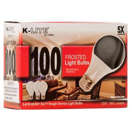 Christmas Bulbs Bulk (New 343636  Light Bulb 3Pk 100W K-Lite Kl11003rs (36-Pack) Electronic Accessories Cheap Wholesale Discount Bulk Electronics Electronic Accessories Bud)