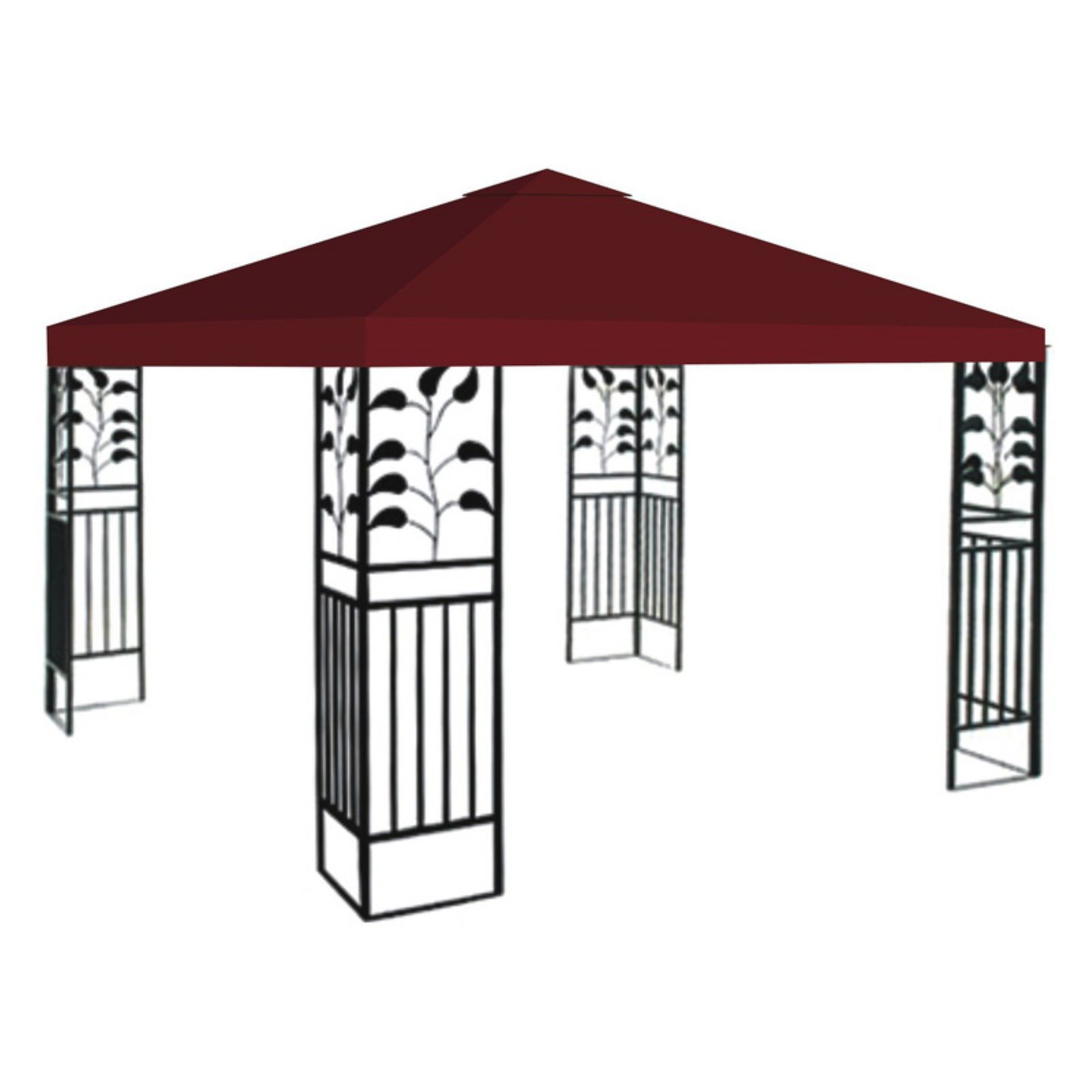 sc 1 st  Walmart.com & Sunrise 10 x 10 ft. Gazebo Replacement Canopy Cover - Walmart.com