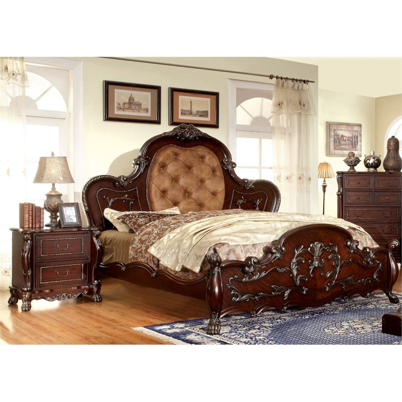 Furniture of America Coppedge 2 Piece Panel California King  Bedroom Set