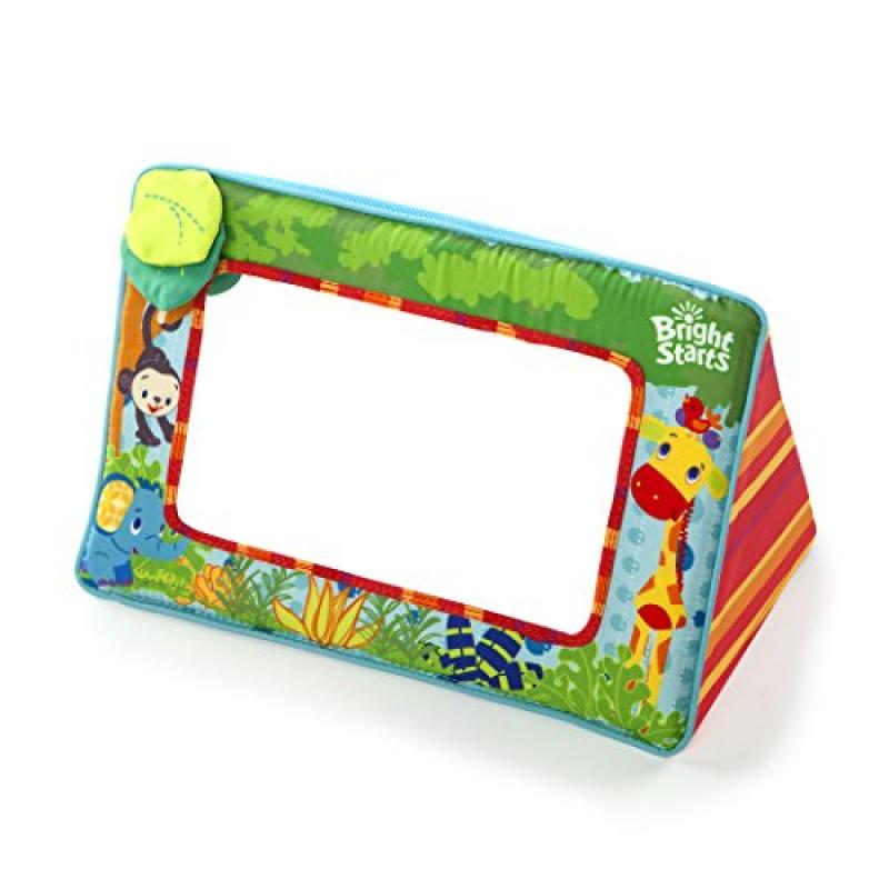 Bright Starts Sit and See Floor Mirror, Safari by Bright Starts