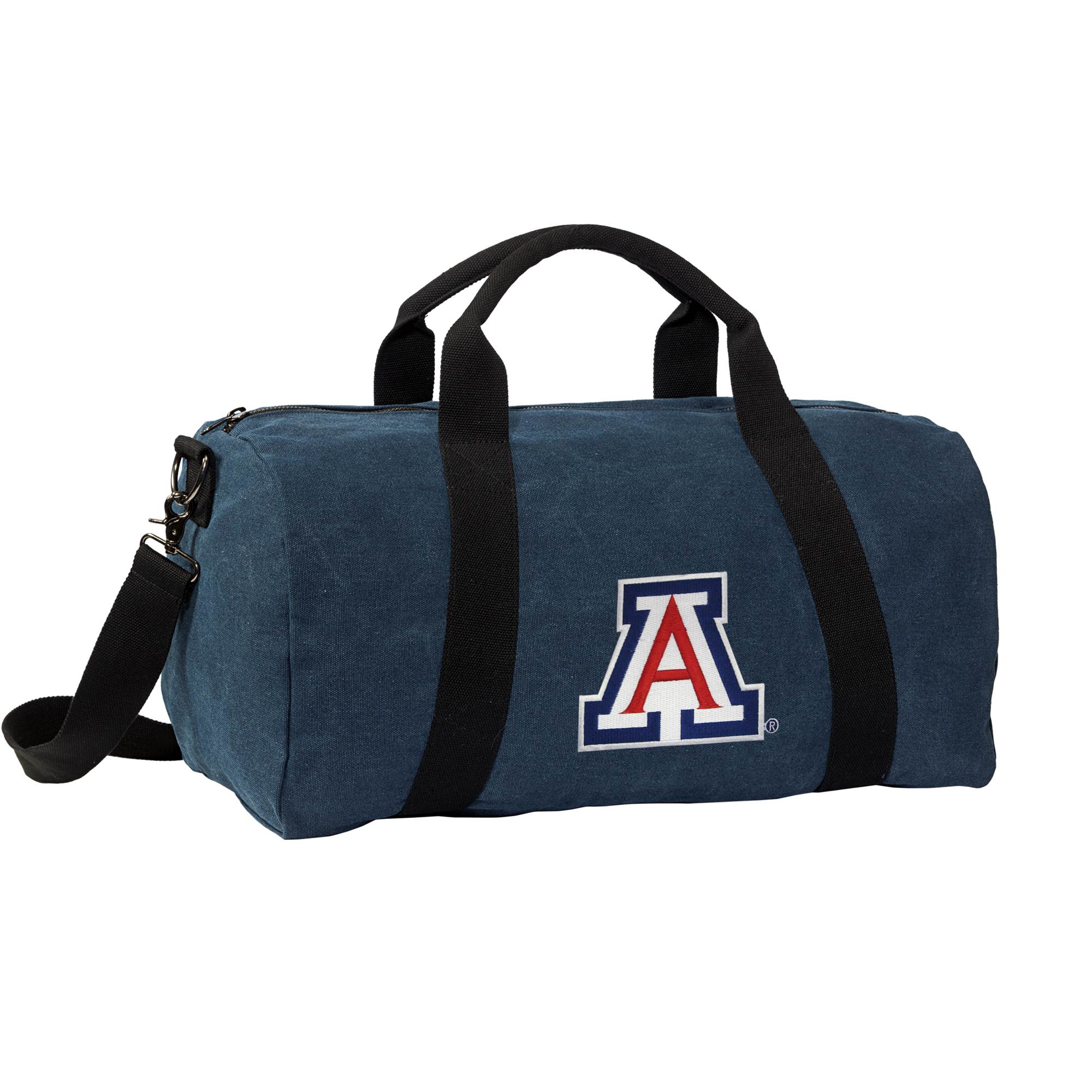 Arizona Wildcats Duffle Bag DELUXE CANVAS University of Arizona Duffels by